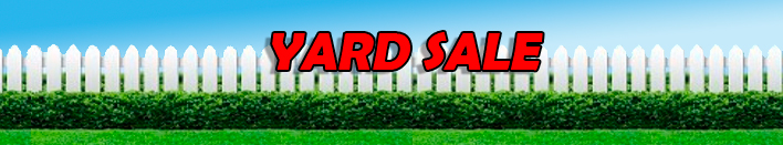 Sign Up for the 6th Annual ONEN Yard Sale