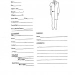 Suspect Description Form