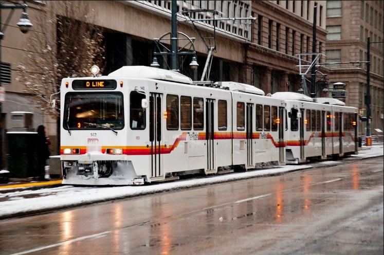 Light Rail in Denver